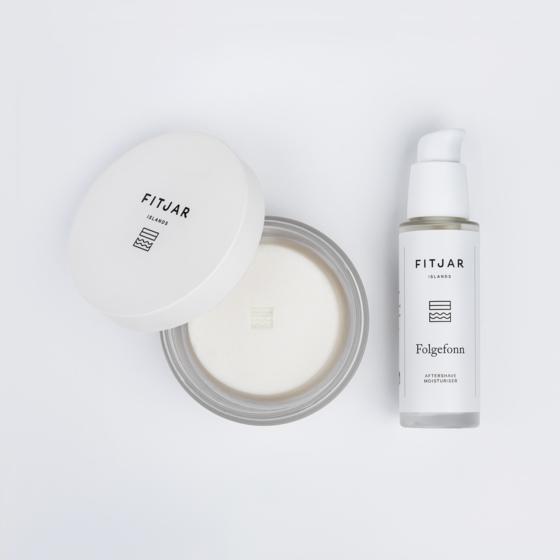 Folgefonn - Norwegian Glacier Essence Shaving Soap and Moisturiser Set