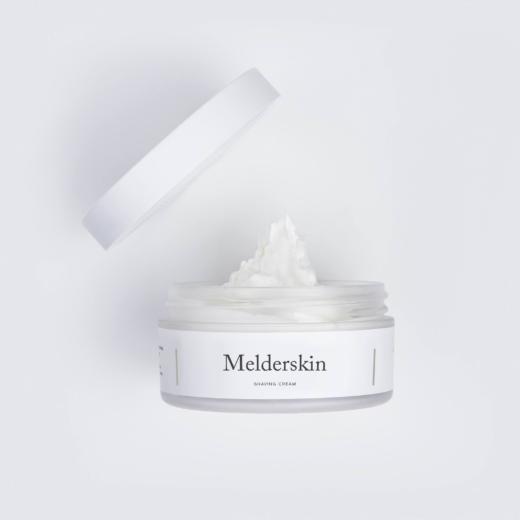 Melderskin shaving cream