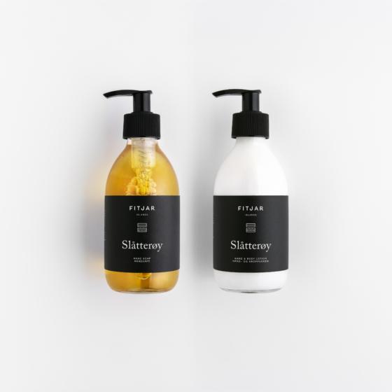 Fitjar Islands | Slatteroy Hand Soap + Hand & Body Lotion 250ml set