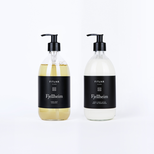 Fjellheim Hand Soap + Hand & Body Lotion