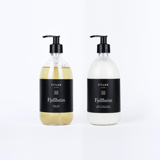 Fjellheim Hand Soap + Hand & Body Lotion