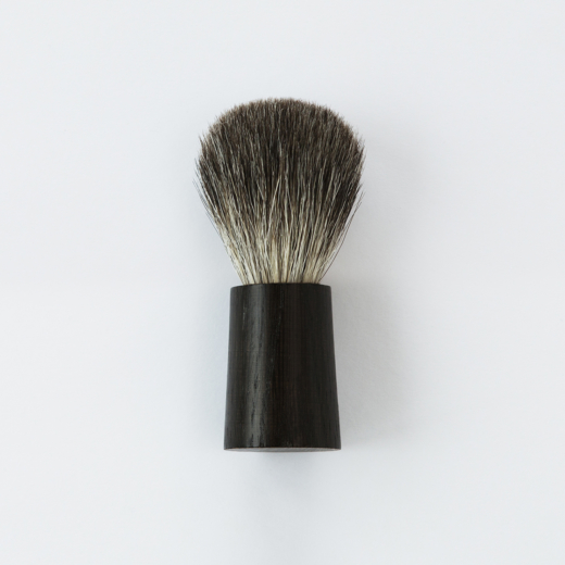 Fitjar Islands Badger Shaving Brush x Olav Eldoy | Black Oak