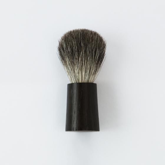 Fitjar Islands Badger Shaving Brush x Olav Eldoy   Black Oak