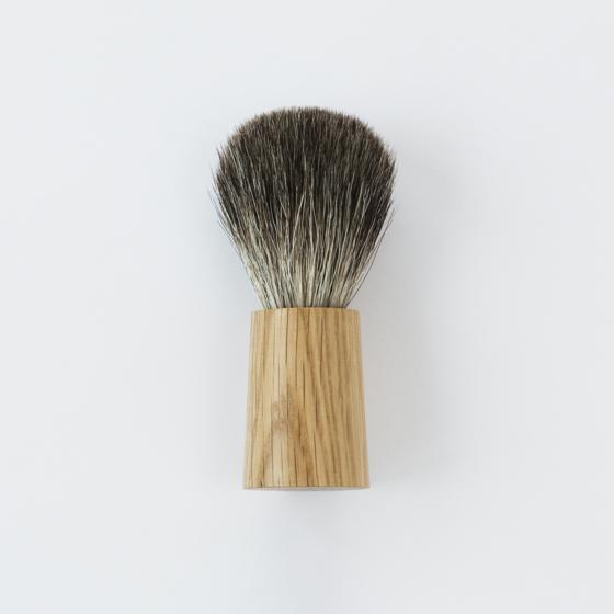 Fitjar Islands Badger Shaving Brush x Olav Eldoy | Natural Oak
