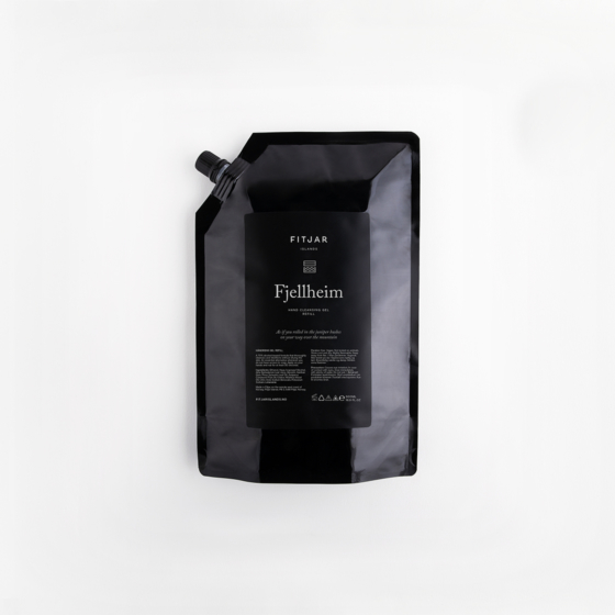 Fjellheim Antibac Hand Sanitiser 500ml Refill
