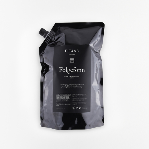 Folgefonn Hand & Body Lotion 1000ml Refill | Fitjar Islands
