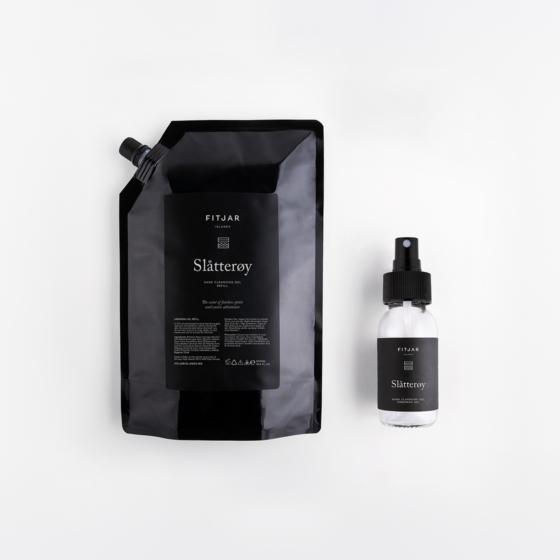 Slatteroy Handsprit 500ml Refill + 50ml empty bottle