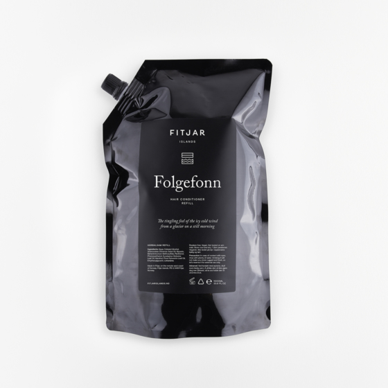Folgefonn Hair Conditioner 1000ml Refill | Fitjar Islands