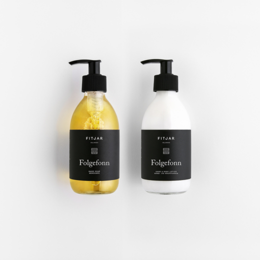 Folgefonn Hand Soap + Hand and Body Lotion 250ml Set | Fitjar Islands