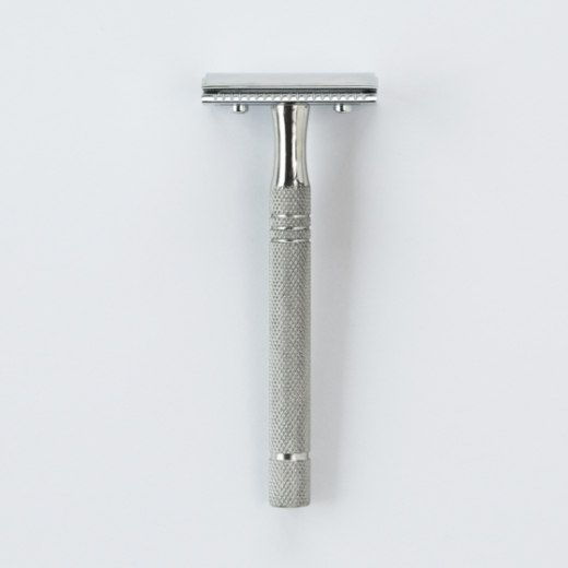 Sollingen Traditional Safety Razor | Silver L10mm