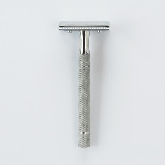 Sollingen Traditional Safety Razor | Silver L10mm